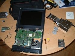 problème laptop ibm t60 ne démarre pas